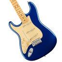 Fender / American Ultra Stratocaster Left-Hand Maple Fingerboard Cobra Blue フェンダー【左利き用】《純正ケーブル&ピック1ダースプレゼント!/+2306619444005》【YRK】・・・