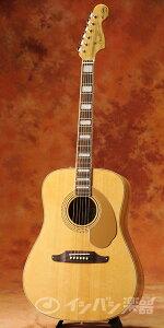 【新品特価】FENDER Acoustic フェンダー / Artist Design Series Elvis Kingman Natural 【Tシャツつき!】 アコースティックギター【送料無料】【タイムセール】