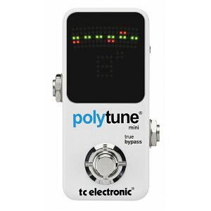 1/4(金) 11:59まで通常価格7,980円がタイムセール特価!t.c.electronic / polytune mini ポリフ...