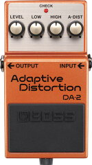 BOSS / DA-2 Adaptive Distortion ディストーション 【BOSSの最先端技術を駆使した、最新の歪みエフェクター!】【NAMM 2013新製品】《9V電池サービス:811049300》《予約注文/8月以降入荷予定》