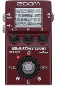 数量限定の新品超特価!競合価格対抗セール!ZOOM ズーム / MS-60B Multi Stomp for Bass 【コ...