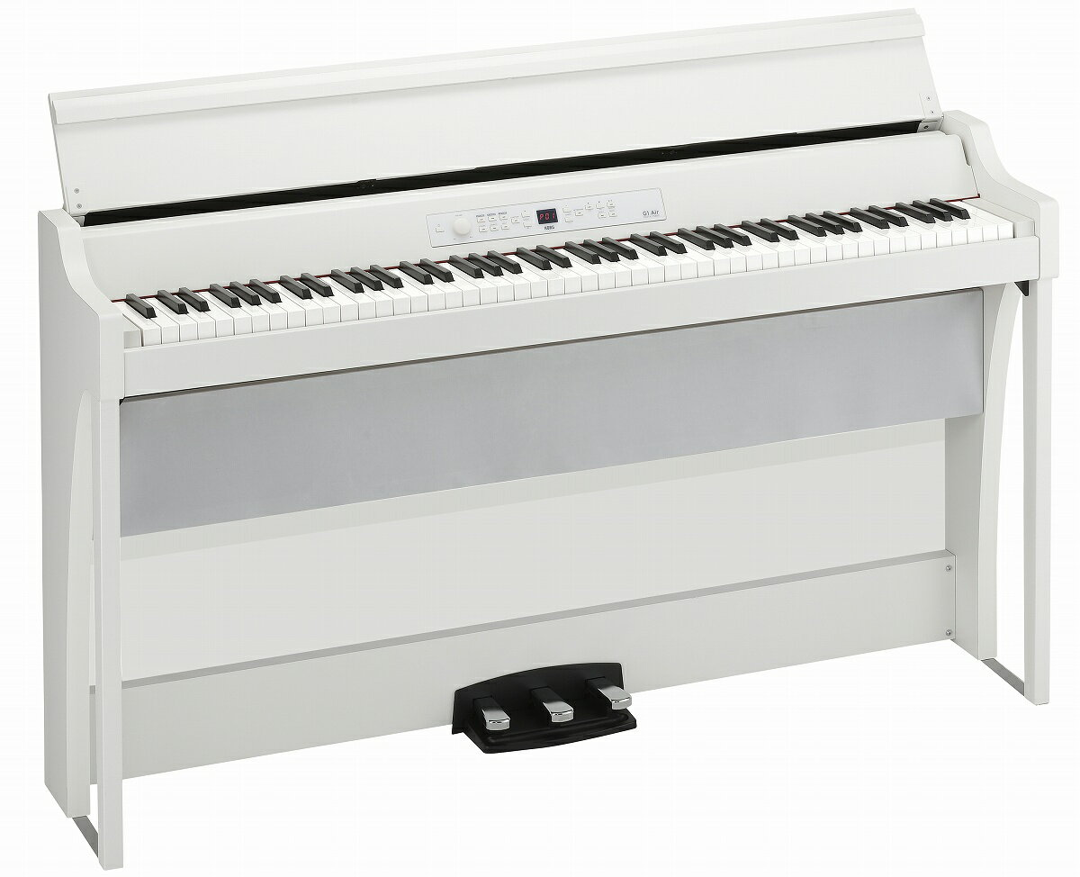 ピアノ・キーボード, 電子ピアノ 7KORG G1B AIR WHITE () PNG