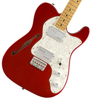 Fender / Vintera 70s Telecaster Thinline Maple Fingerboard Candy Apple Red フェンダー