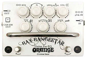 Orange/BaxBangeetarGuitarPre-EQWhite【バックス・バンジーター】