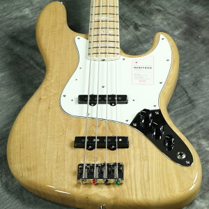 Fender / Made in Japan Heritage 70s Jazz Bass Maple Fingerboard Natural 《純正ケーブル&ピック1ダースプレゼント!/+661944400》【S/N JD20006991】