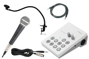 Roland / GO:LIVECAST -マイク、固定型スタンド、AUXケーブル付のカンタン配信スタートセット- Live Streaming Studio for Smartphones