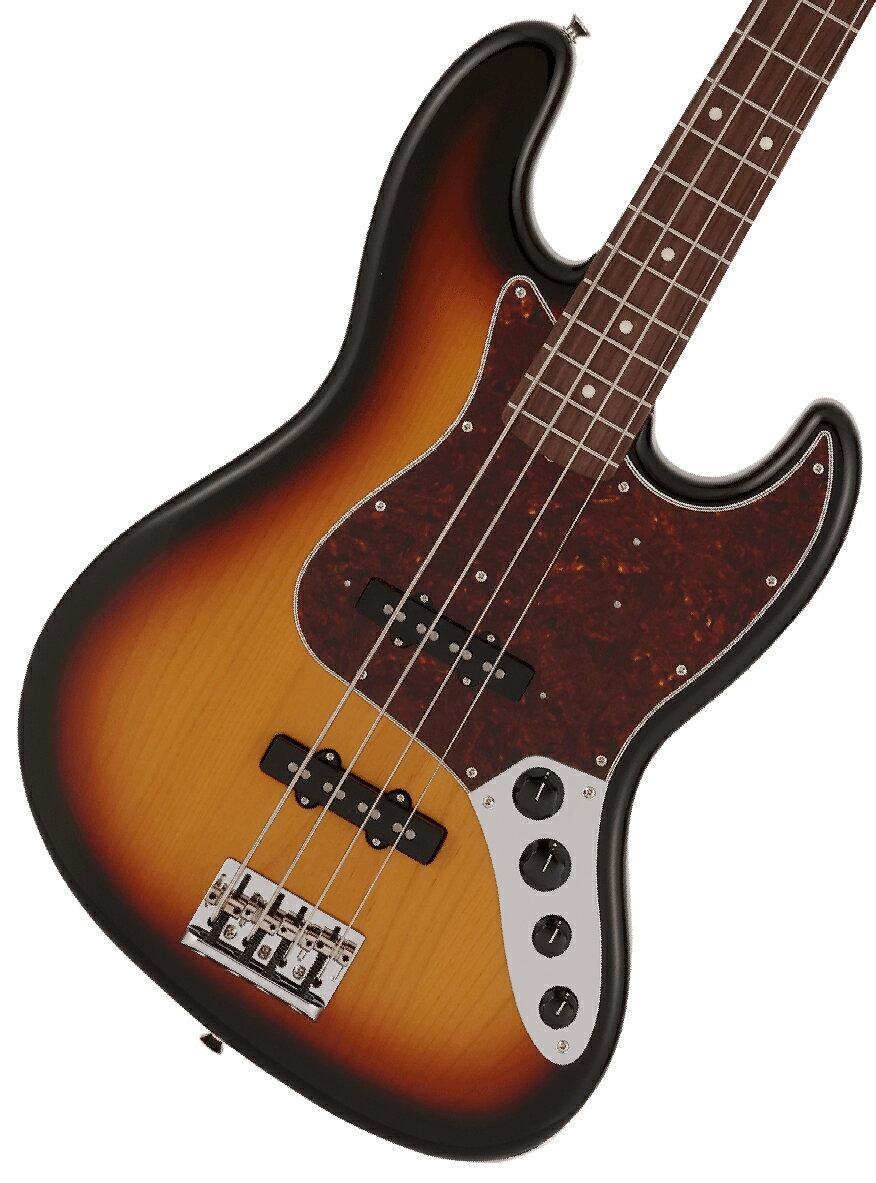 ベース, エレキベース 2812Fender Made in Japan Limited Active Jazz Bass Rosewood Fingerboard 3-Color Sunburst 1!2306619444005YRK