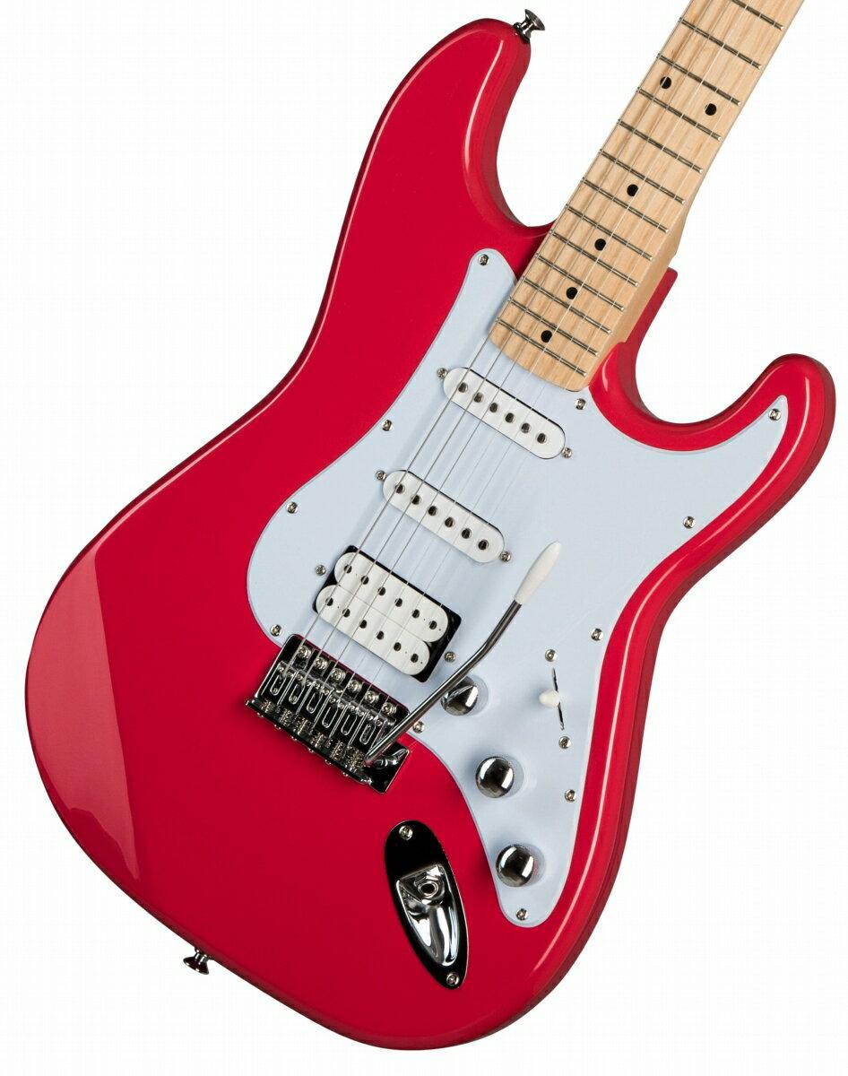 ギター, エレキギター  KRAMER Focus VT-211S Ruby Red