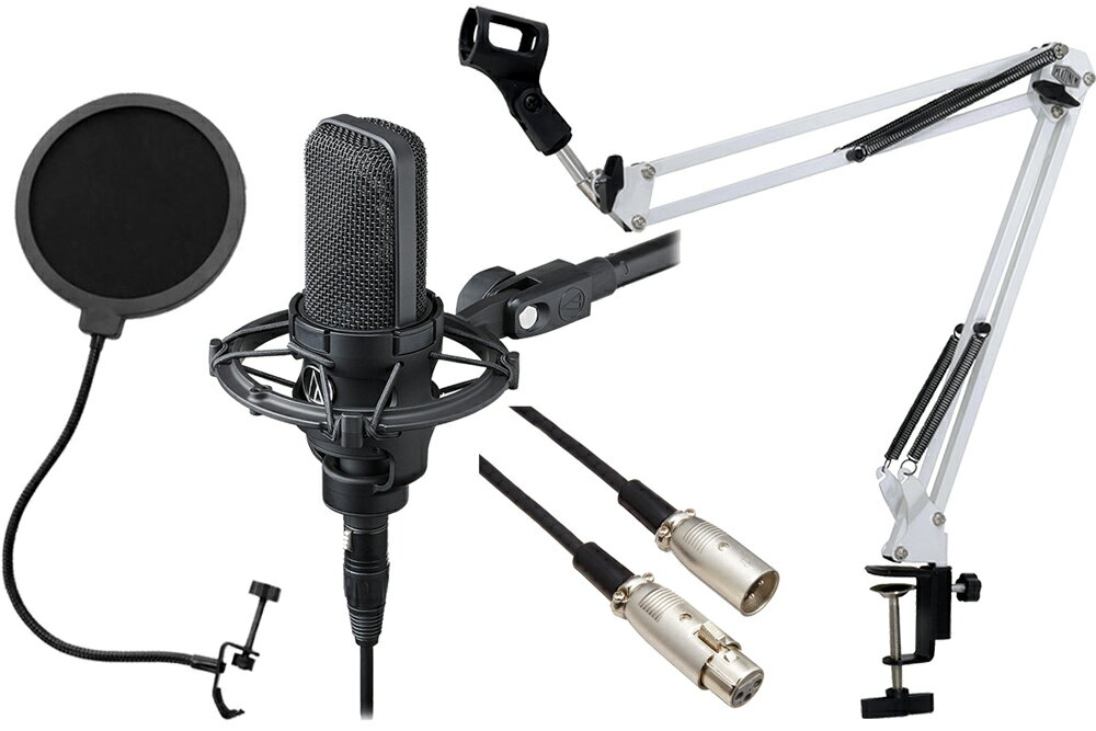 PA機器, マイク audio-technica AT4040 (AT8449a) -3m-