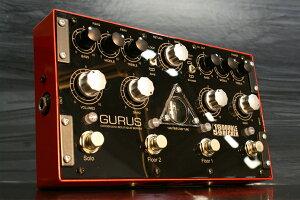 Plexiトーンが弾け出る2chオーバードライブペダルGurus Amp / 1959 Double Decker 2チャンネル...