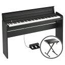 KORG コルグ / LP-180 BK 【椅子セット!】ブラック 電子ピアノ