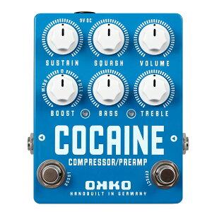 コンプレッサーと イコライザー、ブースターをひとつに。OKKO オッコー / COCAINE [3in1コンプ...