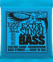 ベース用アクセサリー・パーツ, 弦 ERNiE BALL 2835 EXTRA SLiNKY BASS 40-95 Long Scale