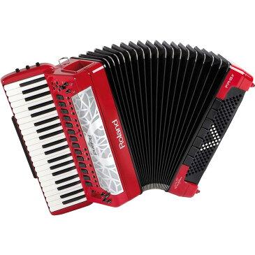 Roland ローランド / V-Accordion FR-8X RD レッド Vアコーディオン ピアノ鍵盤タイプ【お取り寄せ商品】【YRK】