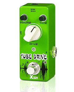 Xvive Effects Pedals / V7 TUBE DRIVE オーバードライブ【イシバシ楽器限定販売】【送料無料】