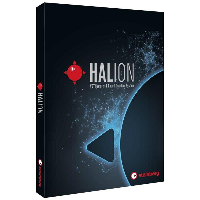 Steinberg スタインバーグ / HALion 通常版 ソフトシンセサイザー / サンプラー (HALion/R)【お取り寄せ商品】