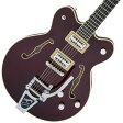 Gretsch / Players Edition G6609TFM Broadkaster Center Block Double-Cut Dark Cherry Stain グレッチ《フレットガード装着後お届け:811127500》【送料無料】