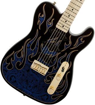 Fender USA / James Burton Telecaster Blue Paisley Flames フェンダー《カスタムショップのお手入れ用品を進呈/+671038200》《数量限定!FenderアンプFRONTMAN10Gもセット!/+591355890》【YRK】