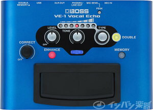 BOSS ボス / VE-1 VOCAL ECHO 【NAMM 2015】 《2/14発売予定/予約受付中!》