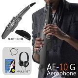 【在庫あり】Roland ローランド / Aerophone AE-10G エアロフォン グラファイトブラック デジタル管楽器 【アップグレードサイレント練習セット】【送料無料】【YRK】