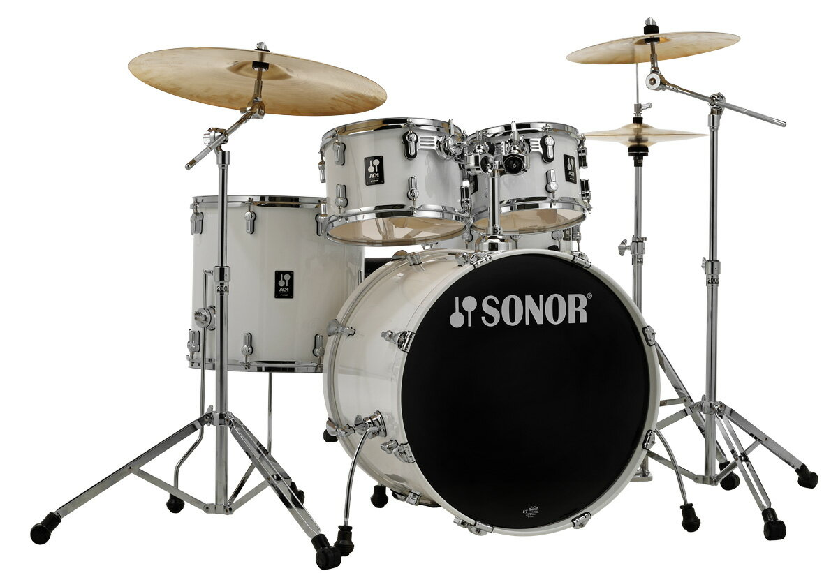 ドラム, ドラムセット SONOR SN-AQ1SG PW AQ1 Stage Set 22BD S