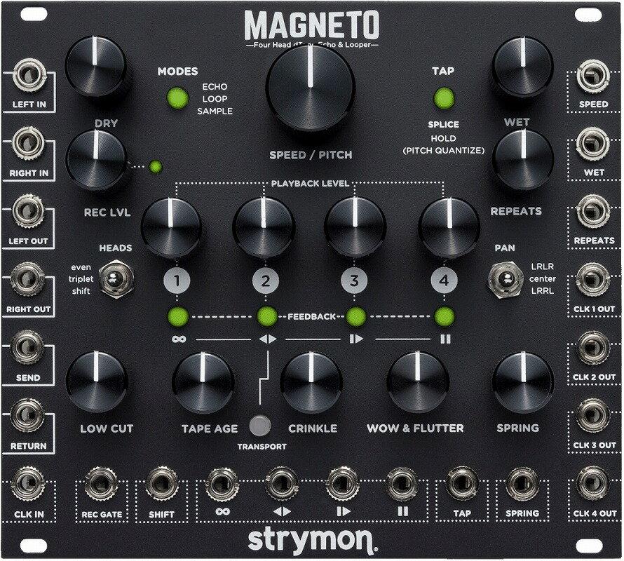 ピアノ・キーボード, モジュラーシンセ Strymon Magneto