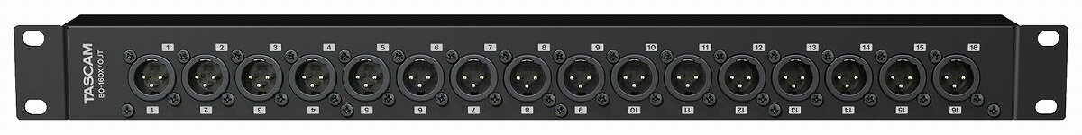 DAW・DTM・レコーダー, その他 TASCAM BO-32DE 16ch D-sub 25pin - XLR()