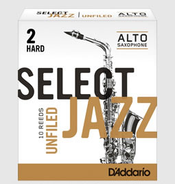 木管楽器用アクセサリー・パーツ, リード DAddario Woodwinds RICO JAZZ SELECT UNFIELD 10 2S LRICJZSUAS2S