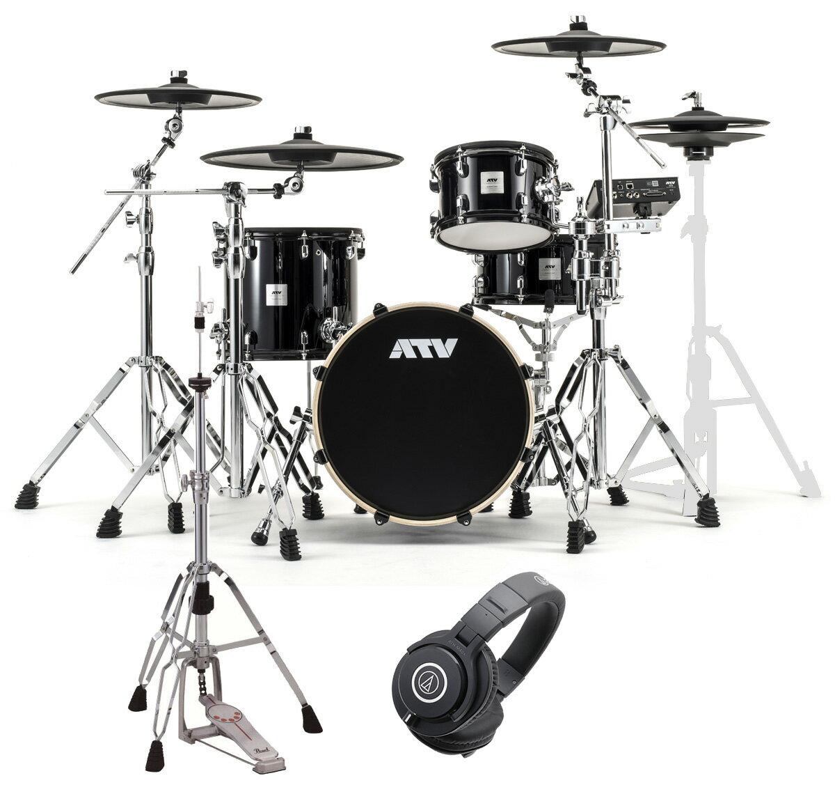 ドラム, 電子ドラム ATV aDrums artist Standard Set ADA-STDSET 3 HHM40x7