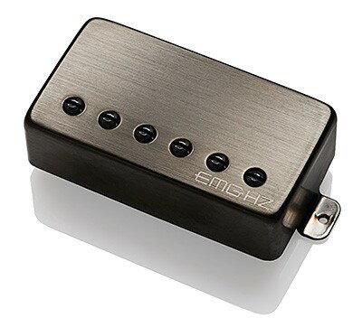 ギター用アクセサリー・パーツ, ピックアップ EMG Electric Guitar Pickup EMG H1A Brushed Black Chrome WEBSHOP