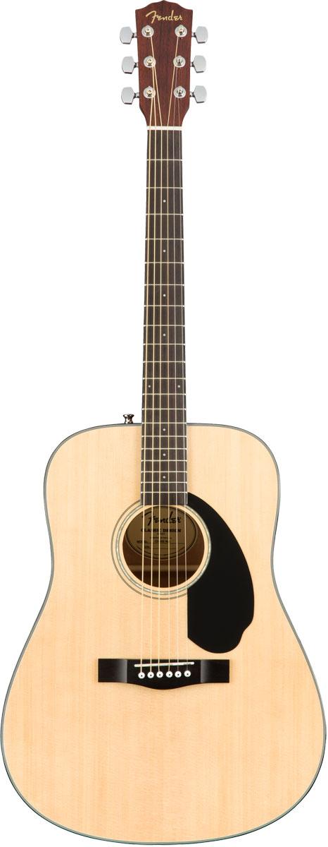 ギター, アコースティックギター  Fender Acoustic CD-60S Dreadnought Natural WN CD60S YRK