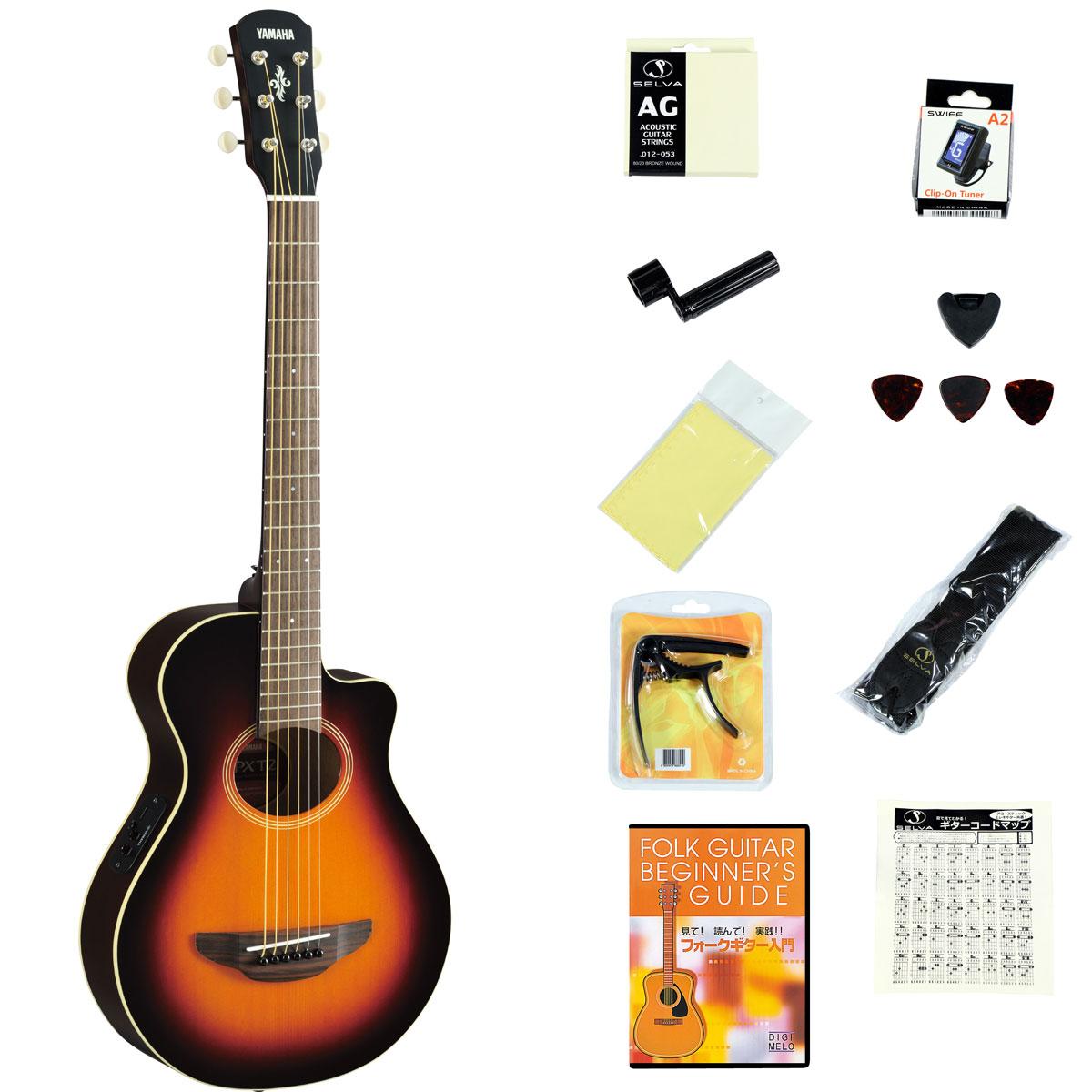 ギター, エレアコギター YAMAHA APXT2 Old Violin Sunburst (OVS) APX-T2YRK2308111820004