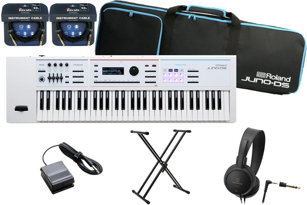 ピアノ・キーボード, キーボード・シンセサイザー 365Roland JUNO-DS61W (JUNO-DS)WH YRKRolandBLACK2
