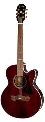 Epiphone/EJ-200CoupeWR(WineRed)エピフォンエレアコアコギEJ200