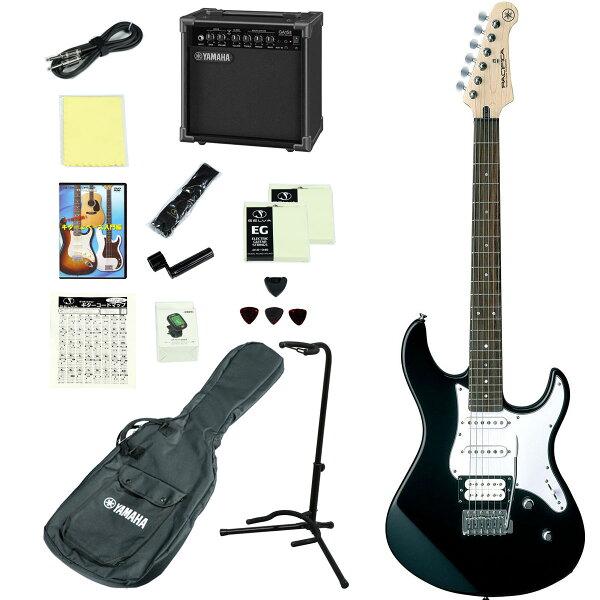 YAMAHA/PACIFICA112VBL(ブラック) アンプつきエレキギター15点入門セット ヤマハPAC112VPAC-11