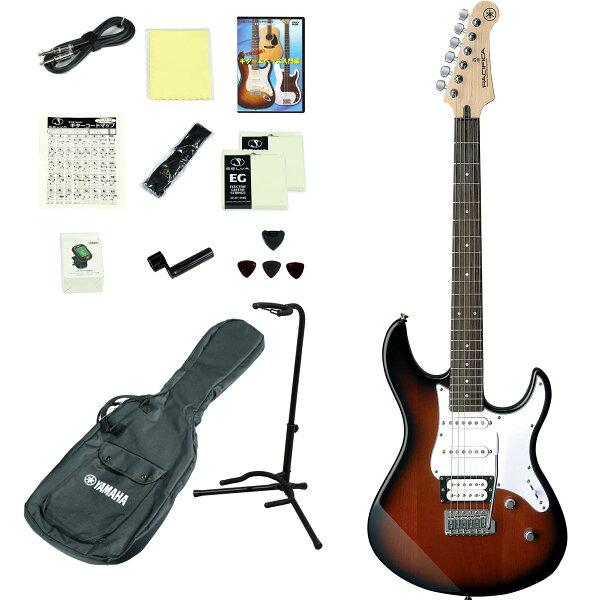 YAMAHA/PACIFICA112VOVS(オールドバイオリンサンバースト) エレキギター14点入門セット ヤマハPAC112