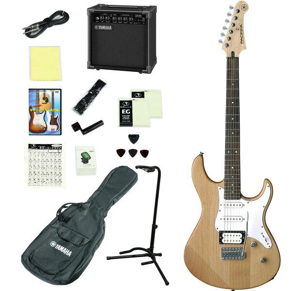 YAMAHA/PACIFICA112VYNS(イエローナチュラルサテン) アンプつきエレキギター15点入門セット ヤマハPAC1