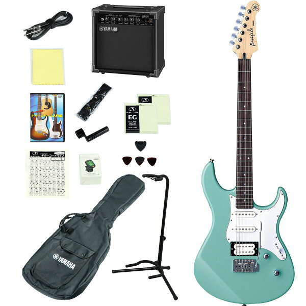 YAMAHA/PACIFICA112VSOB(ソニックブルー) アンプつきエレキギター15点入門セット ヤマハPAC112VPA