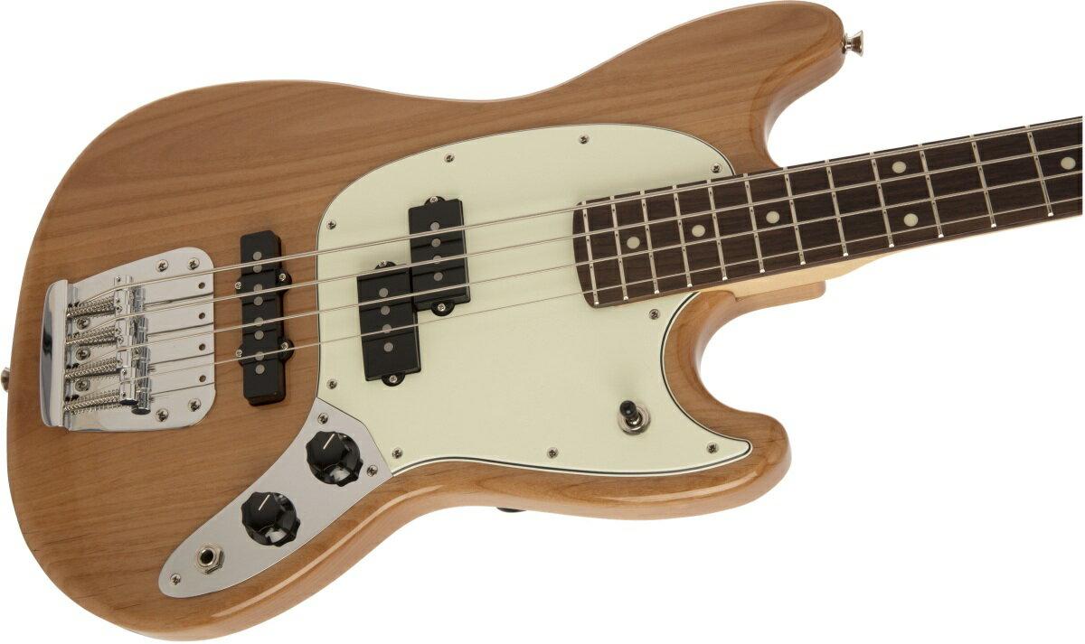 ベース, エレキベース Fender Made in Japan Hybrid Mustang Bass Natural