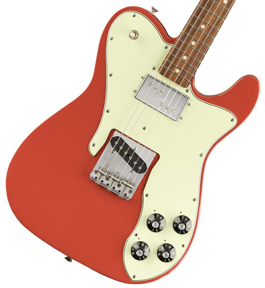 ギター, エレキギター Fender Vintera 70s Telecaster Custom Pau Ferro Fingerboard Fiesta Red