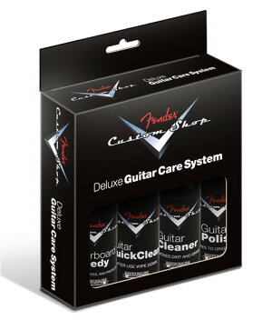 Fender / Custom Shop Deluxe Guitar Care System 4 Pack フェンダー