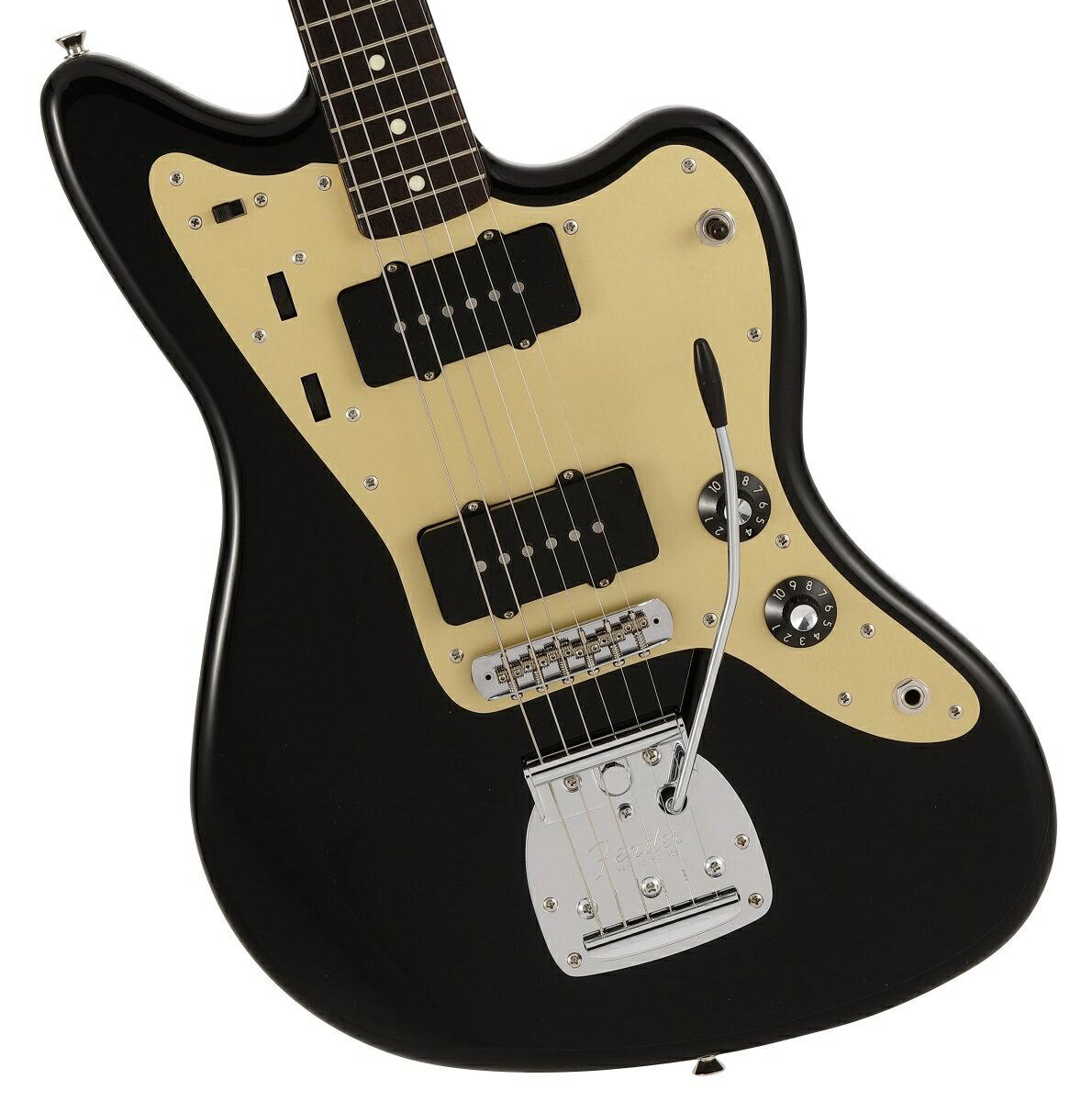 ギター, エレキギター 2812Fender Made In Japan INORAN Jazzmaster Rosewood Fingerboard Black 1!2306619444005YRK