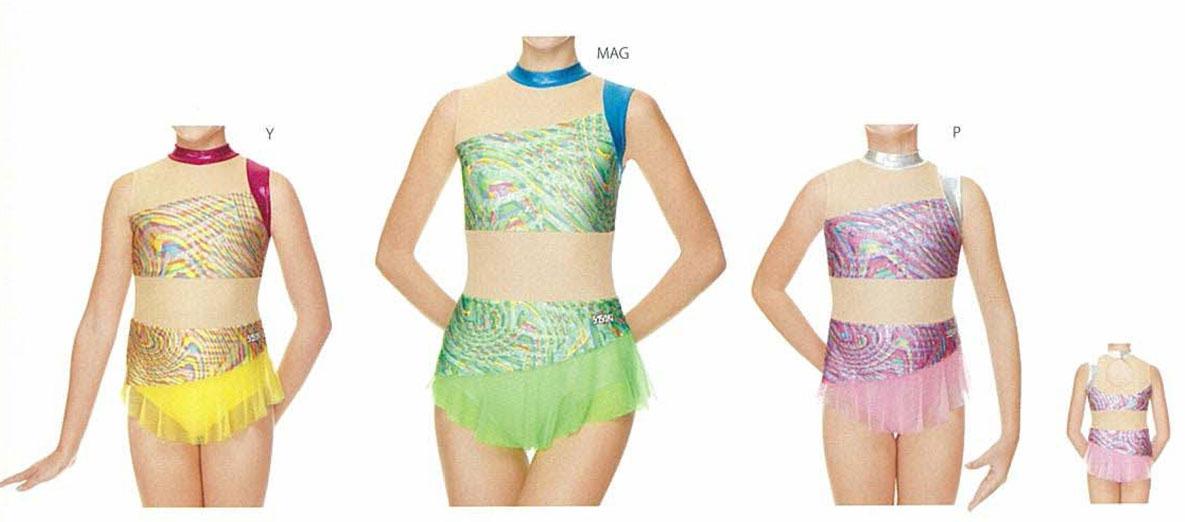 【15%OFF】ササキスポーツ 新体操 スカート付きレオタード 7367S(大人用) ササキスポーツ 新体操 SASAKI レオタード