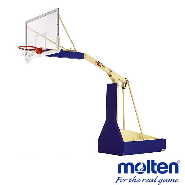 molten モルテン スプリングゴール手動式 手動式バスケットゴール ZBGH ※本体・送料はお見積もり