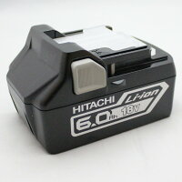 【2年保証】日立工機リチウムイオン電池18V6.0AhBSL1860