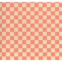 美濃和紙 友禅和紙 大判 64×95cm 赤柄1130-10351 手染め美濃和紙 石川紙業 友禅 和紙 和柄 和風 和模様 千代紙 折り紙 ちぎり絵 包装紙 ラッピング 手芸 材料 用品 工作 生地 用紙 人形 教室 文化 教育 工作 民芸 格子 市松 チェック