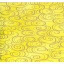 手染め美濃和紙 64×95cm 金柄1130-10253 美濃和紙 友禅和紙 大判 石川紙業 和柄生地 友禅 和紙 和柄 和風 和模様 千代紙 折り紙 ちぎり絵 包装紙 ラッピング 手芸材料 手芸用品 手芸 工作 材料 生地 用紙 人形材料 教室 文化 教育 工作 民芸 黄色 金