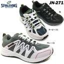 ランニングシューズ スニーカー メンズ SPALDING JN-271【JIN2710】スポルディング メンズ スニーカー ランニング ジョギング レースアップ 幅広設計 5E 防水設計 軽量設計 反