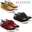 ELLE SPORT エルスポーツ ESS709レディース カジュアル 女性 婦人 ショートブーツ ワラビーブーツ 防寒 ファスナー 低反発 超軽量