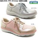 YONEX/ヨネックス パワークッション SHW-LC88 レディース ウォーキングシューズ コンフォートシューズ メッシュ ファスナー 軽量 快適 幅広 3.5E 歩きやすい 脱ぎやすい 履きやすい 散歩 旅行 女性 婦人